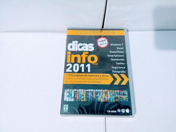 Dvd - Dicas Info 2011 ( Exame )