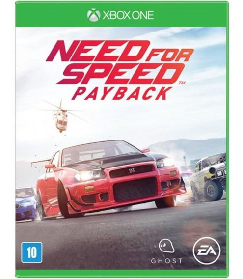 Need For Speed Payback Xbox One Mídia Física 12x