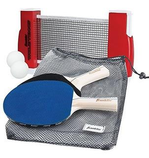 Tenis De Mesa Portátil Con 2 Raquetas Multi Color