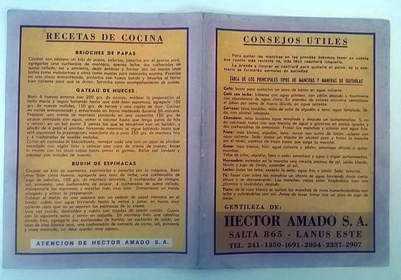 Antigua Publicidad - Hector Amado Electrodomesticos Y Bazar