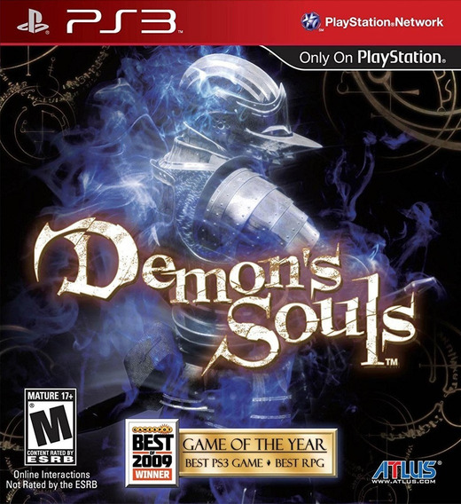 Demons Souls - Jogos Ps3 Playstation 3