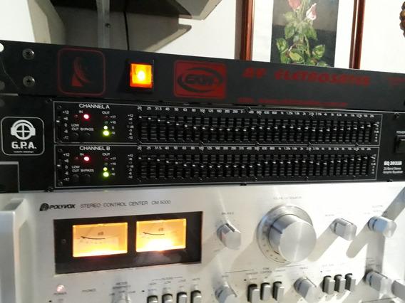 Equalizador Stereo Gpa Eq 2031-b 31 Bandas Importado Zerado