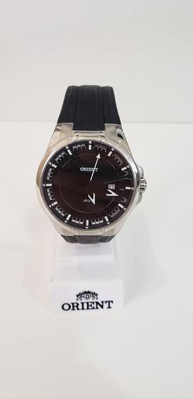 Relógio Orient Masculino Mbsp1 Pulseira De Silicone