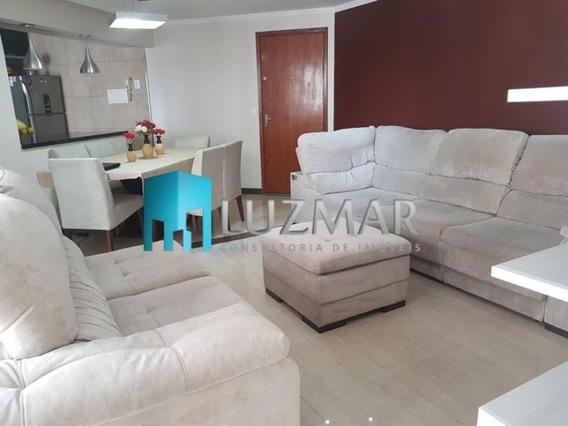 Lindo Apartamento 2 Dormitórios No Taboão - 165l