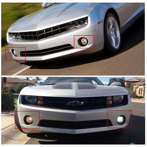 Imagen 1 de 6 de Para 2010-2013 Chevy Camaro Claro Niebla Luces Kit De Parach