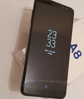 Samsung A8 2018 Sm-a530f Preto Novissimo
