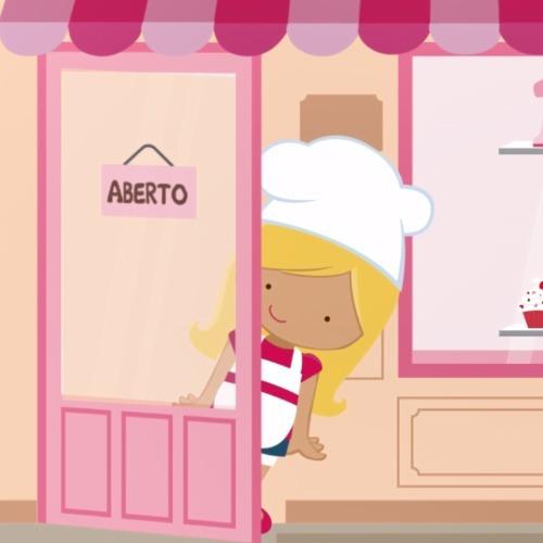 Convite Animado Patisserie / Confeitaria