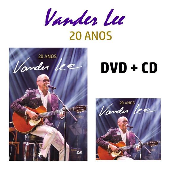 Vander Lee Dvd + Cd 20 Anos Novo Lacrado Original