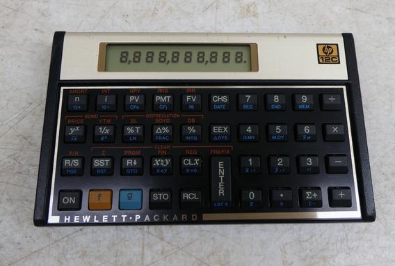 Calculadora Cientifica Hp 12c / 12 C Funcionando