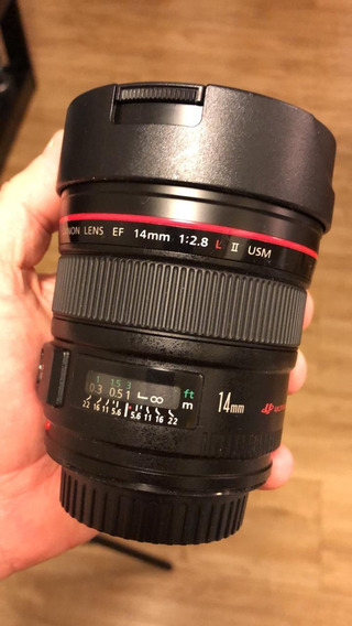 Objetiva Canon Ef 14mm F/2.8 L Ll Usm
