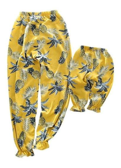 Pantalón Estampado Para Mamá E Hija