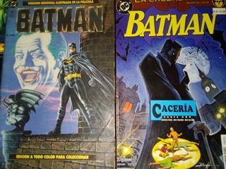 Batman Comic Original Filme 1989 Y Otros ¡oferta!