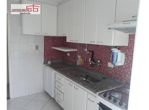 Apartamento Com 3 Dormitórios À Venda, 79 M² Por R$ 490.000,00 - Pirituba - São Paulo/sp - Ap2058