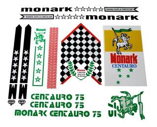 Adesivo Para Bicicleta Monark 75 Centauro Frete Grátis