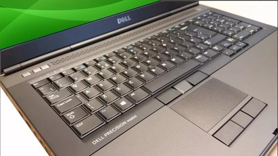 Notebook Dell M6800 I7 8gb 500g Nvidia Quadro 4gb Muito Novo
