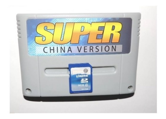 Super Everdrive Multi Jogos Snes Super Nintendo Flashcard