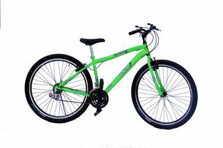 Bicicleta Aro 29 Onix Mtb 18m Com Aro Aero Cor Verde Neon