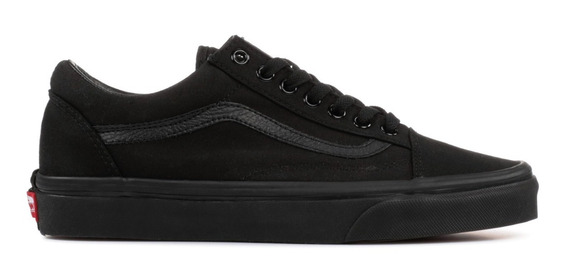 Tenis Vans Old Skool Original Black Vn000d3hbka