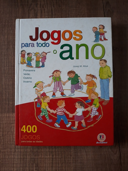 Livro Jogos Para Todo O Ano Produto Novo