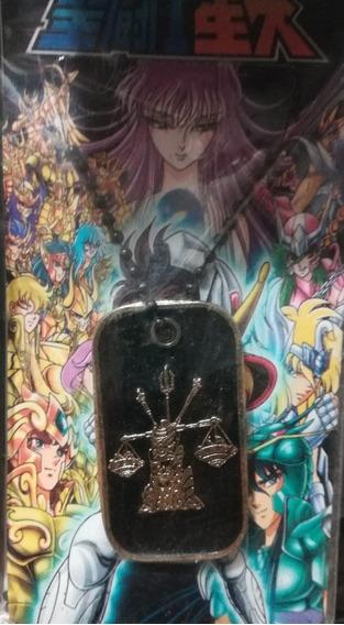 Collar Metalico Del Caballero Dorado De Libra