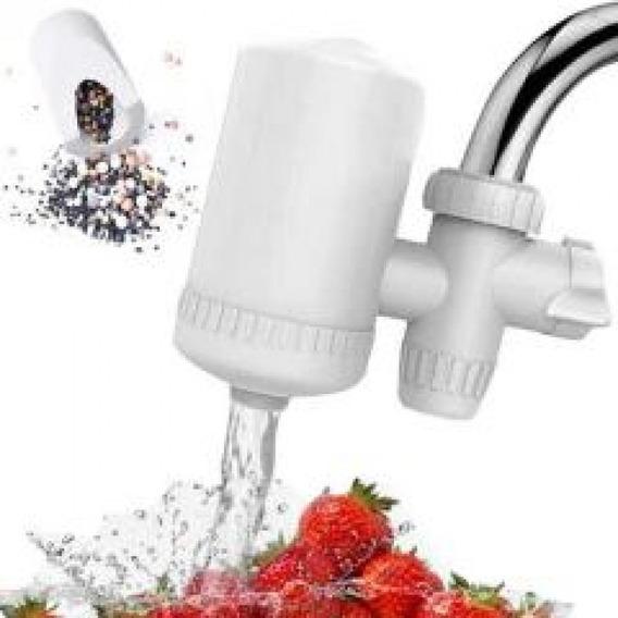 Filtro Purificador De Agua Ceramico Y Carbon Canilla Cocina