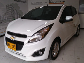 Chevrolet Spark Gt 1.2 Mt 2018 Blanco Aa