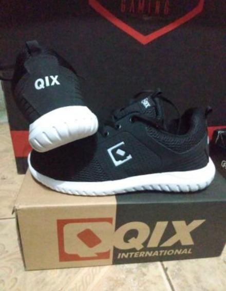Tênis Qix Preto Novo Número 42
