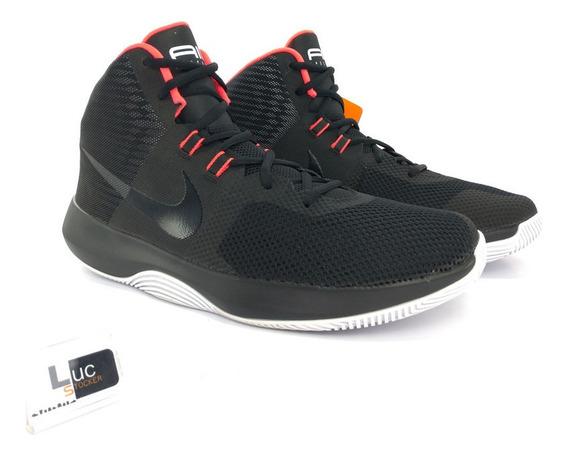 Tênis Nike Air Precision Black Coral 100% Original