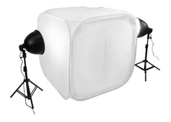 Kit Iluminação Mini Estúdio Fotográfico 60x60 110v