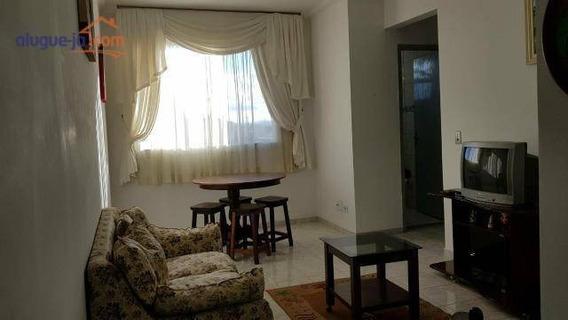 Apartamento Com 2 Dormitórios Para Alugar, 58 M² Por R$ 1.400/mês - Jardim América - São José Dos Campos/sp - Ap8627