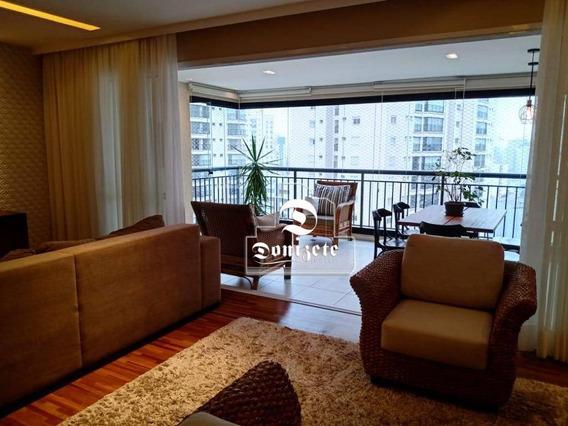 Apartamento Com 3 Dormitórios À Venda, 162 M² Por R$ 1.620.000,10 - Jardim Bela Vista - Santo André/sp - Ap13728