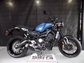 Yamaha Xsr900 Azul 2017