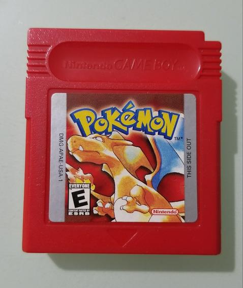 Pokémon Red / Gameboy Color / Cartucho Jogo Original
