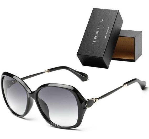 Gafas De Sol Marfil Elegant Para Mujer - Negro