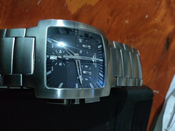 Reloj De Caballero Longines Opposition Cronografo
