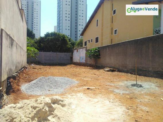 Terreno À Venda, 285 M² Por R$ 480.000 - Vila Augusta - Guarulhos/sp - Te0001