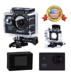 Sj4000 Casco De 12mp Full Hd 1080p Deportes Acción Impermeab