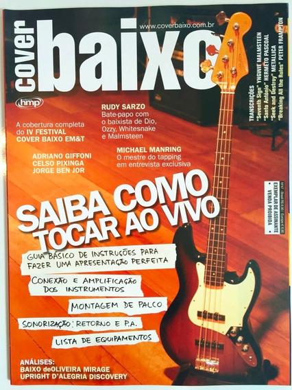 Revista Cover Baixo - Ed 47 - Ago/2006 - Saiba Como Tocar Ao