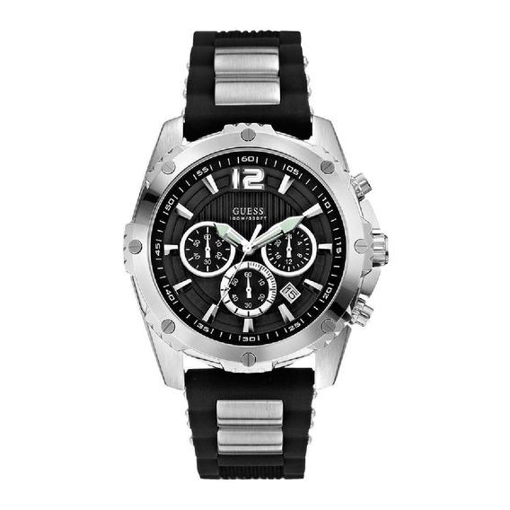 Relógio De Pulso Guess 92489 Preto Masculino Original