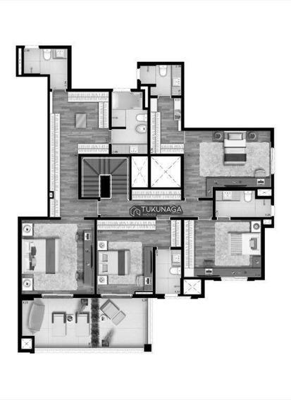 Cobertura Com 4 Dormitórios À Venda, 455 M² Por R$ 8.600.000 - Vila Mariana - São Paulo/sp - Co0039