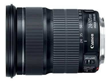 Lente Canon 24-105 Stm Is 3.5 / 5.6 Usada Apenas Uma Vez