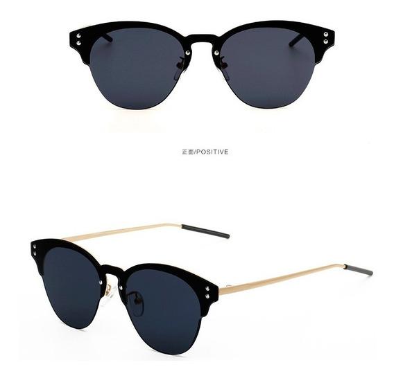 Gafas De Sol Mujer Sin Marco Gafas Espejo Originales Uv400
