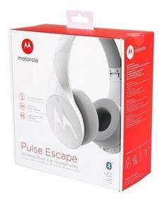 Fone Motorola Pulse Escape Bluetooth Escolha Preto Ou Branco