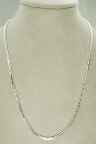 Corrente Feminina Masculina 70 Cm (s-35) Prata 925