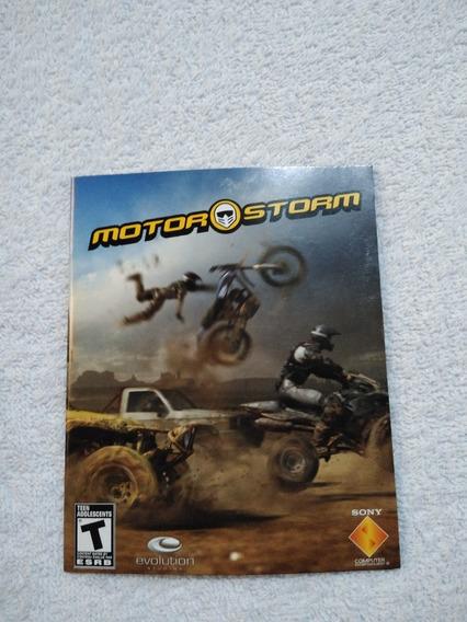 Manual Do Game Motor Storm Ps3 *** Leia