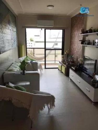 Imagem 1 de 17 de Apartamento À Venda Praia Da Enseada - Guarujá - Ap4636