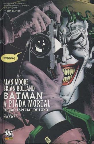 Batman A Piada Mortal Dc Comics Panini 2009