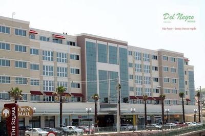 Sala Comercial À Venda, The Square Open Mall, Granja Viana. - Sa0041
