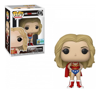 Funko Pop Tv Big Bang Theory - Penny As Wonder Woman 835