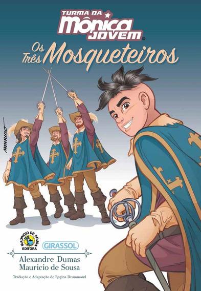 Livro Turma Da Monicaj - Romances E Aventuras - Os Tres Mosq
